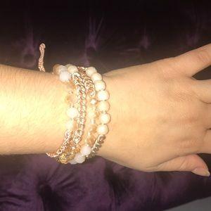 Rose Gold Wrap Bracelete